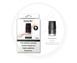 SMOK | NFIX / NFIX Mate Replacement Pods | 2ml | 0.8 Ohm DC MTL | Pack of 3