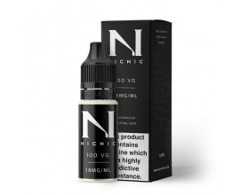 NicNic | 10ml Single Nicotine Shots | 100% VG Shot | 18mg