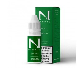 NicNic | 10ml Single Nicotine Shots | 50/50 VG/PG Shot | 18mg