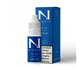 NicNic | 10ml Single Nicotine Shots | 70/30 VG/PG Shot | 18mg