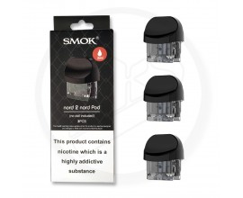 SMOK | Nord 2 Replacement Pods | NORD Version | 2ml | Pack of 3