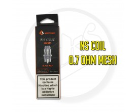 Geek Vape - NS MTL Coils - Designed for the Flint / Frenzy - 0.7 Ohm Mesh Coil - Pack of 5