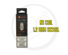 Geek Vape | NS MTL Coils | Designed for the Flint / Frenzy | SS316L Temp Control Coil | Pack of 5