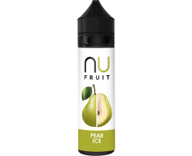 NU Fruit | Pear Ice | 50ml Shortfill | 0mg