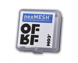 OFRF | nexMesh 0.15 Ohm SS316L Mesh Strips | Designed for the Profile RDA / Profile M RTA | Pack of 10