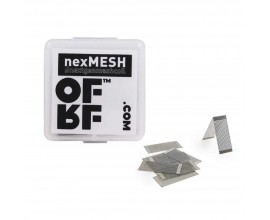 OFRF | nexMesh 0.13 Ohm Mesh Strips | Designed for the Profile RDA / Profile M RTA | Pack of 10