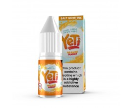 Yeti Nicotine Salts | Orange Mango | 10ml Single | 20mg Nicotine Salts
