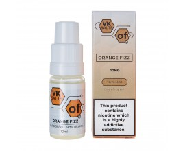 Viking Vape VK Salts | ORANGE FIZZ | 10ml Single Bottles | 10mg / 20mg Nicotine Salts