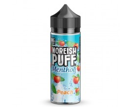Moreish Puff | Menthol | Peach | 100ml Shortfill | 0mg