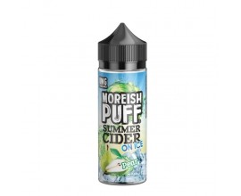 Moreish Puff | Summer Cider on Ice | Pear | 100ml Shortfill | 0mg