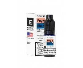 Element Emulsions E-Liquids Traditional 50/50 Range | Pink Grapefruit + Blueberry | 10ml Single | Various Nicotine Strengths