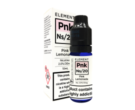 Element E-Liquids Designer Nicotine Salts | Pink Lemonade | 10ml Single | 10mg / 20mg Nicotine Salt