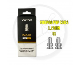 Voopoo - PnP Coils ( Vinci / FIND Trio ) - Pack of 5 - 1.2 Ohm C1