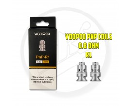 Voopoo - PnP Coils ( Vinci / FIND Trio ) - Pack of 5 - 0.8 Ohm R1