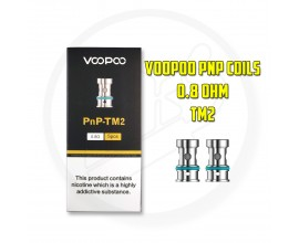 Voopoo | PnP Coils | Pack of 5 | 0.8 Ohm TM2