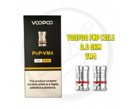 Voopoo - PnP Coils ( Vinci / FIND Trio ) - Pack of 5 - 0.6 Ohm VM4