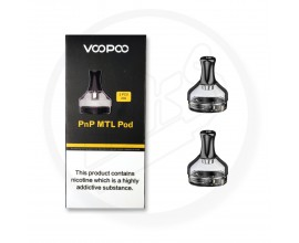 Voopoo | PnP Replacement Empty MTL Pods | 2ml | Pack of 2