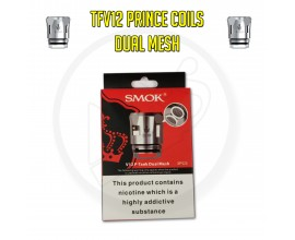 SMOK TFV12 Prince Coils - 0.2 Ohm Dual Mesh (Pack of 3)