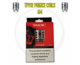 SMOK TFV12 Prince Coils - 0.17 Ohm M4 (Pack of 3)