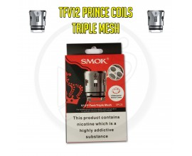 SMOK TFV12 Prince Coils - 0.15 Ohm Triple Mesh (Pack of 3)