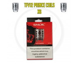 SMOK TFV12 Prince Coils - 0.15 Ohm X6 (Pack of 3)