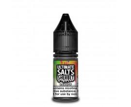 Ultimate Salts Sherbet | Rainbow | 10ml Single | 10mg / 20mg Nicotine Salt