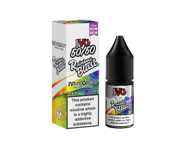 I VG 50/50 E-Liquids - RAINBOW BLAST - 10ml Single - Various Nicotine Strengths
