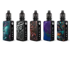 Voopoo | Drag 2 Refresh Edition Kit | Dual 18650 | 177W | 2ml PnP Pod Tank