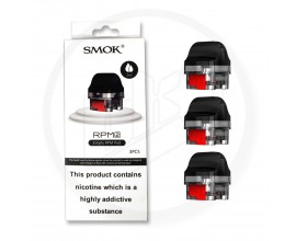 SMOK | RPM 2 / 2S Replacement Empty Pods | ORIGINAL RPM VERSION | Pack of 3
