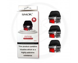 SMOK | RPM 2 / 2S Replacement Empty Pods | RPM 2 VERSION | Pack of 3