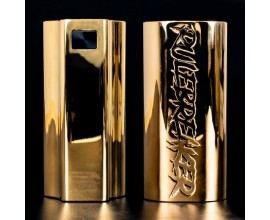 Vaperz Cloud | Rulebreaker Triple 21700 Series Mechanical Mod | BRASS (Limited Edition)