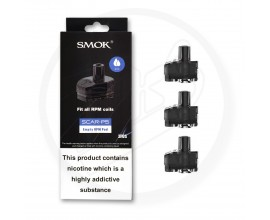 SMOK | SCAR-P5 Replacement Empty Pods | RPM Version | Pack of 3