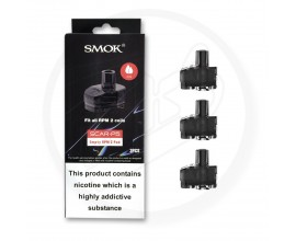 SMOK | SCAR-P5 Replacement Empty Pods | RPM 2 Version | Pack of 3