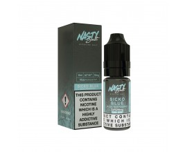 Nasty Salts - SICKO BLUE - 10mg Nicotine Salts - 10ml TPD