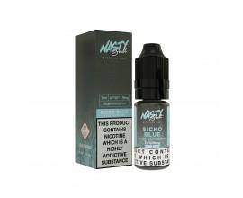Nasty Salts - SICKO BLUE - 20mg Nicotine Salts - 10ml TPD