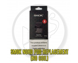 SMOK - Nord Pod Replacements - Pack of 3 - NO COIL INCLUDED
