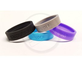 Snowwolf - Vape Bands For Bubble Glass (Single) - Mixed Colours