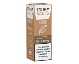 True Salts | Straight Tobacco | 10ml Single | 10mg / 20mg Nicotine Salts
