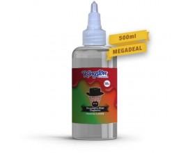 Kingston MegaSaver | Strawberry Kiwi Zingberry | 500ml Shortfill | 0mg