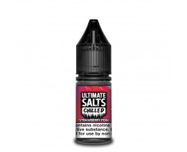 Ultimate Salts Chilled | Strawberry Pom | 10ml Single | 10mg / 20mg Nicotine Salt
