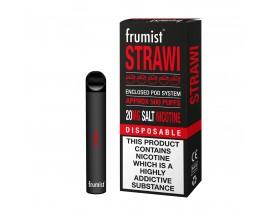 Frumist | Disposable Pod E-Cigarette Kit | 400mAh / 450-500 Puffs | 20mg Nicotine Salts | STRAWI
