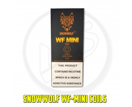 Snowwolf | WF-Mini Coils | Also fits Sigelei Sibra / Sobra | 0.28 Ohm | Pack of 5