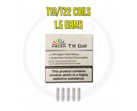 Innokin | Endura Coils for STANDARD T18 & T22 | 1.5 Ohms | Pack of 5