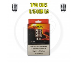 Smok TFV8 Coils - 0.15 Ohm Q4 (Pack of 3)