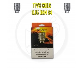 Smok TFV8 Coils - 0.15 Ohm X4 (Pack of 3)
