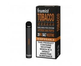 Frumist | Disposable Pod E-Cigarette Kit | 400mAh / 450-500 Puffs | 20mg Nicotine Salts | TOBACCO