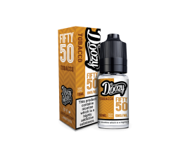 Doozy Vape Co | Fifty 50 TPD Range | 10ml Bottles | TOBACCO | Various Nicotine Strengths