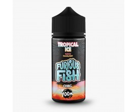 Furious Fish Shortfill E-Liquids | Tropical Ice | 100ml Shortfill | 0mg