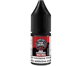 Top Vape by I VG | RED ANISEED | 10ml Single | 10mg / 20mg Nicotine Salts