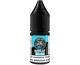 Top Vape by I VG | SUPER ICE MENTHOL | 10ml Single | 10mg / 20mg Nicotine Salts